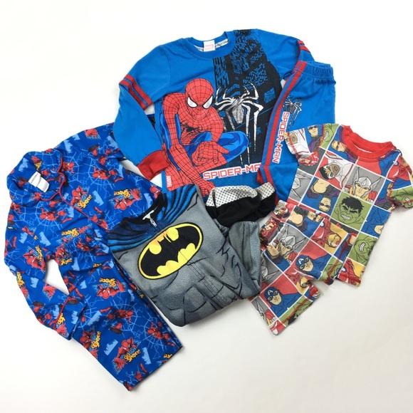 f90416189 Spiderman Pajamas